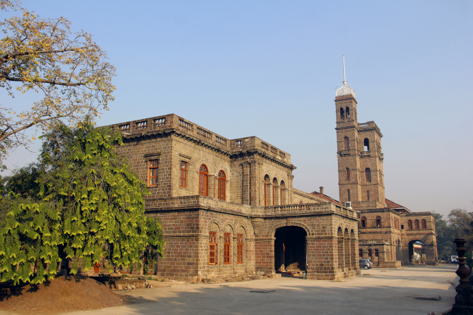 Pune features for its architecture, such as Savitribai Phule Pune University building.